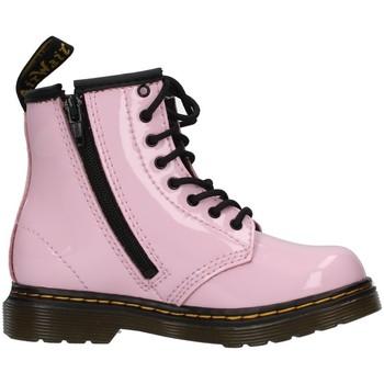 Chaussures Fille Bottines Dr Martens 1460T Rose