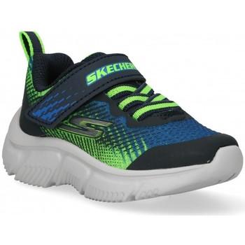 Chaussures Garçon Baskets basses Skechers 57723 bleu