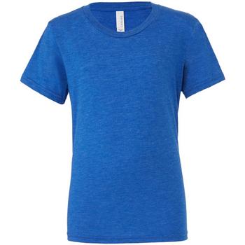 Vêtements Homme T-shirts manches courtes Bella + Canvas CA3413 Bleu roi