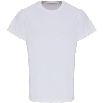Vêtements Homme T-shirts manches courtes Tridri TR014 Blanc
