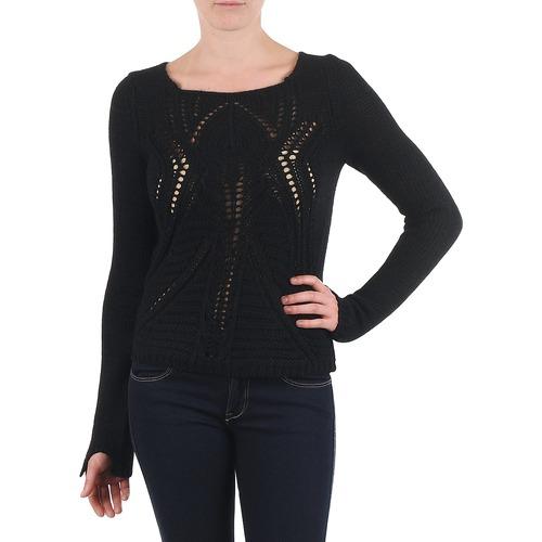 Vêtements Femme Pulls Antik Batik LACE Noir