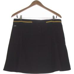 Vêtements Femme Jupes Lacoste Jupe Courte  40 - T3 - L Noir