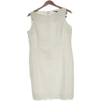 Vêtements Femme Robes courtes Bruno Saint Hilaire Robe Courte  42 - T4 - L/xl Blanc