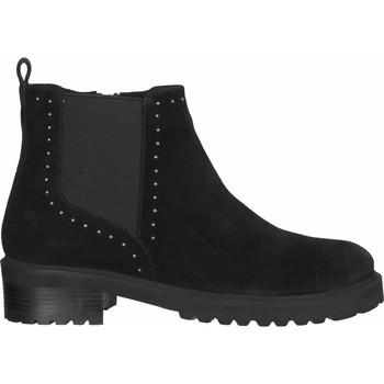 Chaussures Femme Low boots SPM Bottines Schwarz