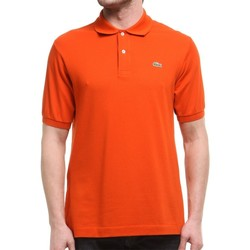 Vêtements Homme Polos manches courtes Lacoste L1212WU9 Orange