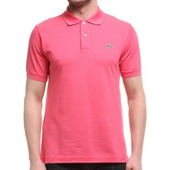 Vêtements Homme Polos manches courtes Lacoste L1212GMZ Rose