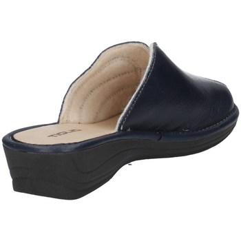 Chaussures Femme Sabots Tiglio 1609 Bleu