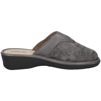 Chaussures Femme Chaussons Tiglio 1603 Gris