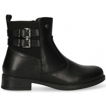 Chaussures Femme Bottines Etika 55095 Noir