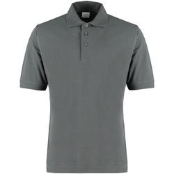 Vêtements Homme Polos manches courtes Kustom Kit KK460 Gris foncé