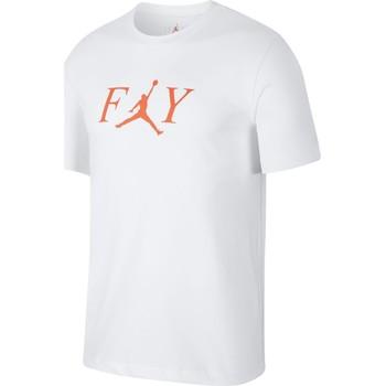 Vêtements Homme T-shirts manches courtes Air Jordan - T-Shirt Jordan Fly - AT8932 Blanc