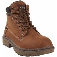 Chaussures Garçon Boots Bubble Bobble Botín niño  a3478 cuero Marron
