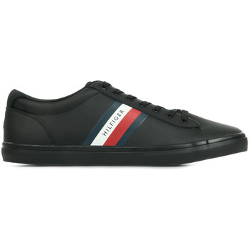 Chaussures Homme Baskets basses Tommy Hilfiger Essential Leather Vulc noir
