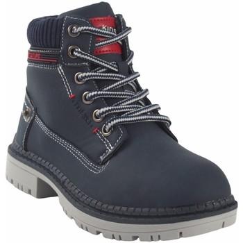 Chaussures Garçon Boots Bubble Bobble Botín niño  a3478 azul Bleu