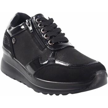 Chaussures Femme Baskets basses Amarpies Zapato señora  20315 ast negro Noir