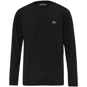 Vêtements Homme T-shirts manches longues Lacoste TH0123031 Noir