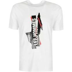 Vêtements Homme T-shirts manches courtes Les Hommes  Blanc