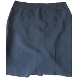 Vêtements Femme Jupes manigance jupe droite bleu marine Bleu