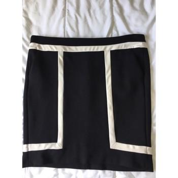 Vêtements Femme Jupes Mexx jupe droite noir et blanc Noir