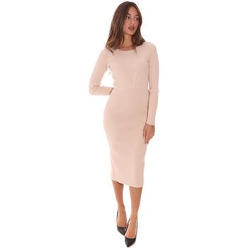 Vêtements Femme Robes longues Fracomina F321WD5013K48201 Beige