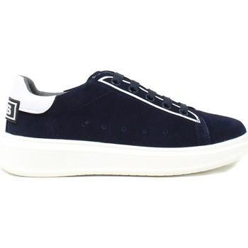Chaussures Enfant Baskets basses 4us 4U-002A Bleu
