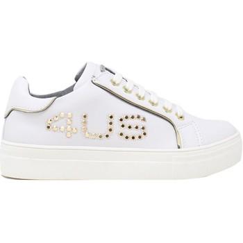 Chaussures Enfant Baskets basses 4us 4U-064 Blanc