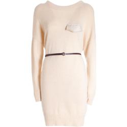 Vêtements Femme Robes courtes Fracomina F321WD5003K47601 Beige