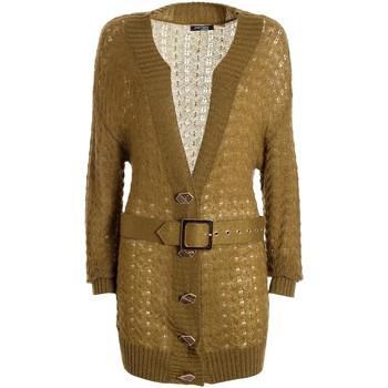 Vêtements Femme Gilets / Cardigans Fracomina F321WT8006K45801 Vert