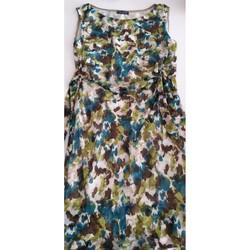 Vêtements Femme Robes courtes manigance robe d' été sans manches Multicolore