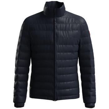 Vêtements Doudounes BOSS Doudoune  Slim Fit en tissu recyclé Balto2141 Bleu nuit Bleu Foncé