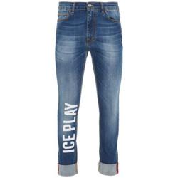 Vêtements Jeans droit Ice Play JEANS Bleu