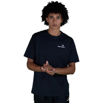 Vêtements Homme T-shirts manches courtes Sergio Tacchini T-shirt  Arnold Bleu Marine Bleu Marine