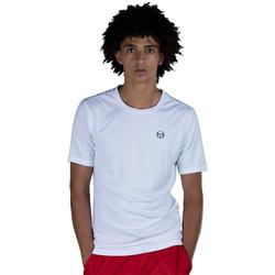 Vêtements Homme T-shirts manches courtes Sergio Tacchini T-shirt  Alviero Blanc Blanc