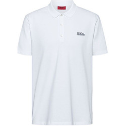Vêtements Homme Polos manches courtes BOSS Polo  Boss Dovoy Blanc Blanc
