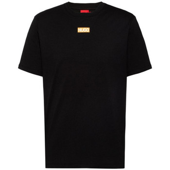 Vêtements Homme T-shirts manches courtes BOSS T-shirt  Durned212 Regular Fit Noir Noir