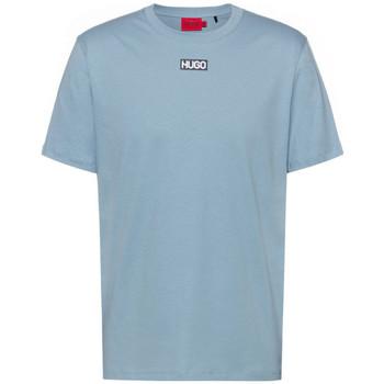 Vêtements Homme T-shirts manches courtes BOSS T-shirt  Durned212 Regular Fit Bleu Bleu