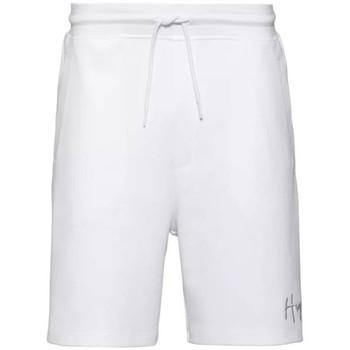 Vêtements Homme Shorts / Bermudas BOSS Short en coton  Dalfie Blanc
