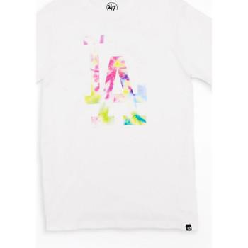Vêtements T-shirts manches courtes 47 Brand T-shirt blanc 47 brand Los Angeles Dodgers Blanc