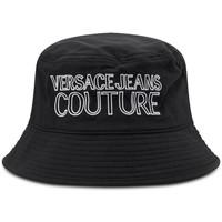 Accessoires textile Homme Chapeaux Versace Jeans Couture Bob  E8YWAK06 Dis 2 Noir