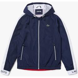 Vêtements Homme Coupes vent Lacoste Coupe-vent Tennis  SPORT léger color-block Bleu Marine