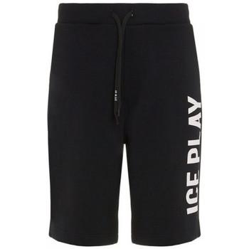 Vêtements Shorts / Bermudas Ice Play SHORT  UOMO Noir et blanc