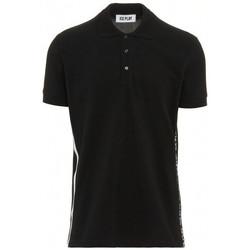 Vêtements Polos manches courtes Ice Play POLO Noir et blanc