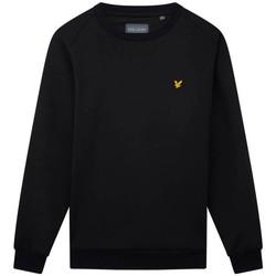 Vêtements Homme Sweats Lyle & Scott Sweat à col rond  Fly Fleece noir Noir
