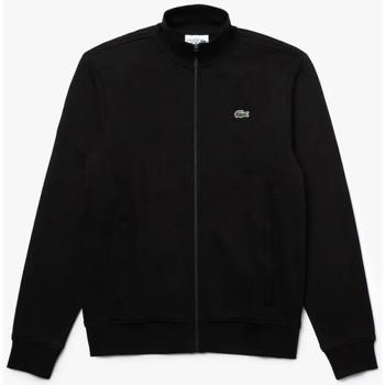 Vêtements Homme Sweats Lacoste Sweatshirt zippé  SPORT en molleton de coton Noir Noir