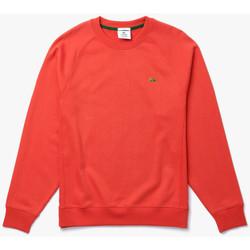Vêtements Sweats Lacoste Sweatshirt unisexe  LIVE ample en molleton de coton Rouge