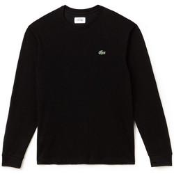 Vêtements Homme T-shirts manches longues Lacoste T-shirt  SPORT à manches longues Noir