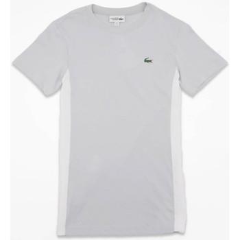 Vêtements Homme T-shirts manches courtes Lacoste T-shirt  Sport Gris Gris