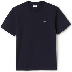 Vêtements Homme T-shirts & Polos Lacoste T-shirt  SPORT homme ultraléger Bleu Marine