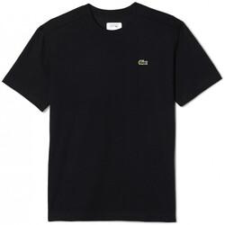 Vêtements Homme T-shirts & Polos Lacoste T-Shirt  Sport noir Noir