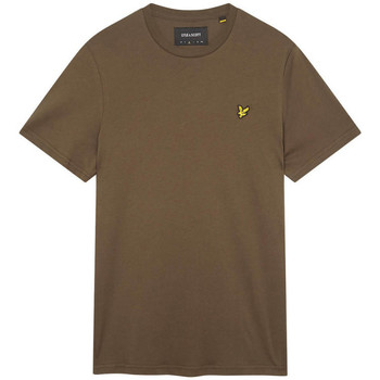 Vêtements Homme T-shirts & Polos Lyle & Scott T-shirt  Plain vert Vert